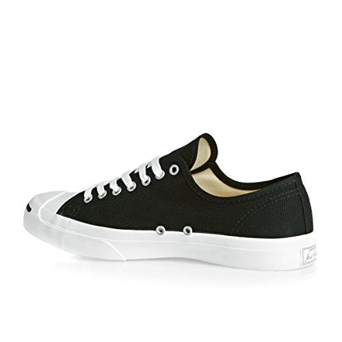 Converse Womens Jack Purcell Cp Canvas Low Top Nero / Bianco