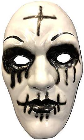 Gb la Purga Original Cross Deluxe Halloween Plástico Duro Máscara ...