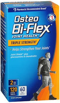 Osteo Bi-Flex Triple Strength Caplets - 120 ct, Pack of 3 by Osteo Bi-Flex