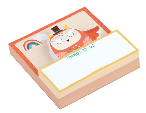 Owl Shaped Memo Pads by Galison