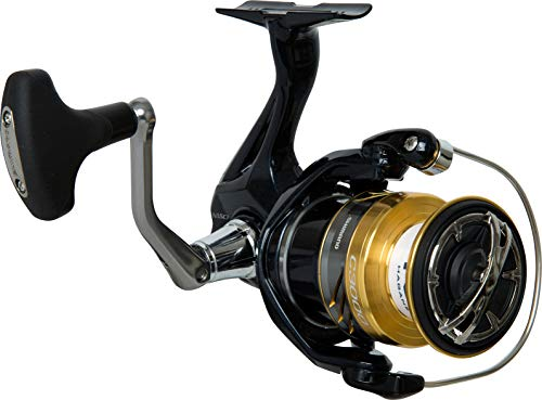 Shimano Nasci C 3000 HG FB compact spinning reel with front drag, model 2017, NASC3000HGFB