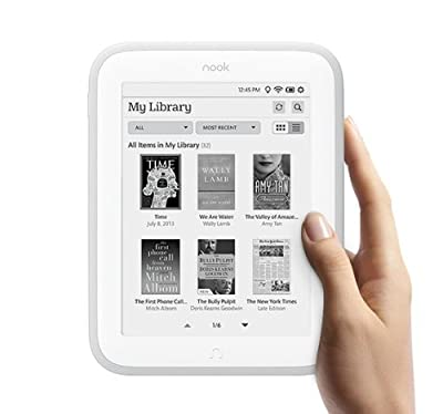 Nook GLOWLIGHT eBook Reader BNRV500 by Barnes & Noble