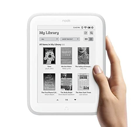 Nook GLOWLIGHT eBook Reader BNRV500