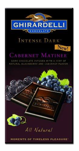 Ghirardelli Chocolate Intense Cabernet 3 5 Ounce
