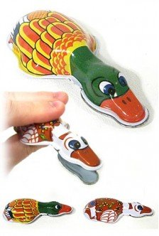 Duck Clicker Colorful Classic Tin Toy-Seasonal Toys]()