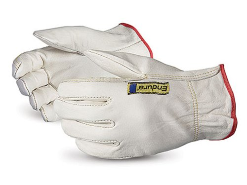 Superior 378KTA Endura Cowhide Leather Driver Glove with Deluxe Keystone Thumb, Work, Medium (Pack of 1 Dozen) by Superior Glove Works B00BHLTO08