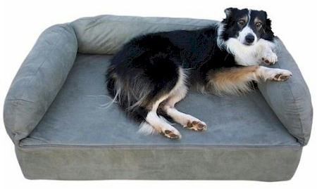 Snoozer Memory Foam Luxury Pet Sofa, Large, Leaf