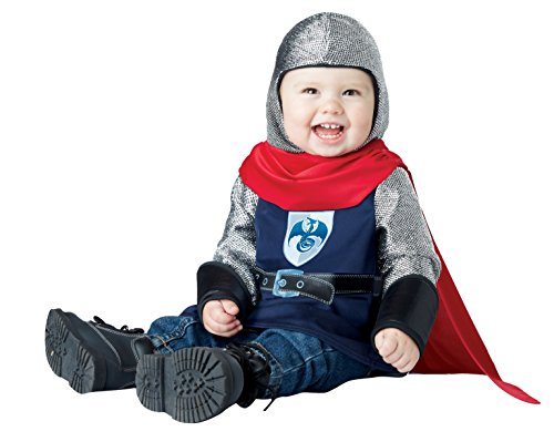 California Costumes Baby Boys' Lil' Knight Infant, Navy/Red, 12 to 18 Months - Boy Knight Costumes