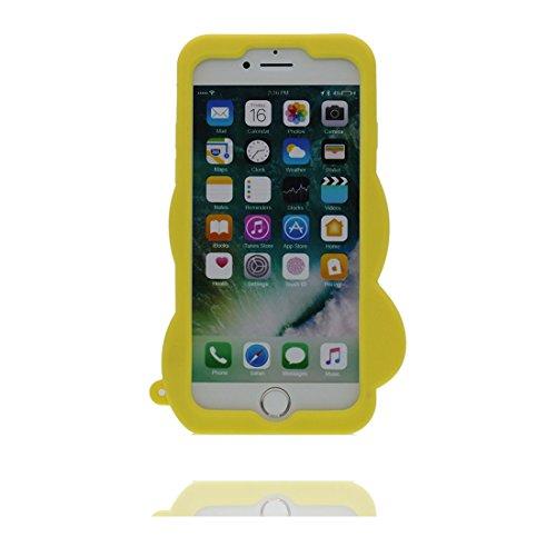 """iPhone 7 Plus (5.5"""") Coque, [ de matériau TPU souple élégant canard ] iPhone 7 Plus étui (5.5 pouces), poussière glissement résistant aux rayures, iPhone 7 Plus Case et Bouchon anti-poussière"""