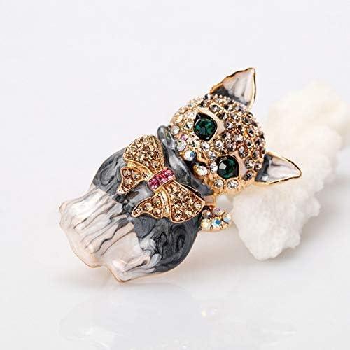 YRUI Cat Brooch Pin Metal Alloy Brooch Womens Pin Corsage Jewelry Brooch