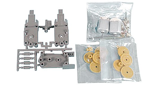 - Tamiya 70097 Twin Motor Gearbox Assembly Set