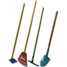 Emsco Group Little Diggers Kids Garden Tool Set – Four-Piece Set – Child Safe Tools – Garden with Your Kids