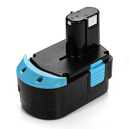 Powerextra 18V Replacement Battery Compatible with Hitachi EB 1820L C 18DL C 18DLX C 18DMR EBM1830 BCL1815 DS18DFLG DS18DL Compatible with Hitachi 327730 327731 Cordless Tools