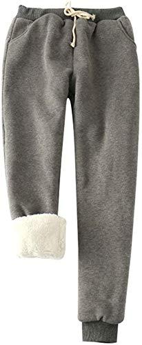 Yrcos - Pantalones de chándal para Mujer (imitación de Cachemira ...
