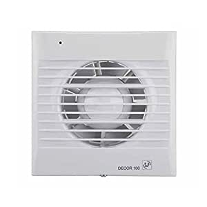Soler & Palau Decor-100 CR 13W Blanco - Ventilador (Blanco, 13 W, 230 V, 50 Hz, 440 g)