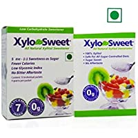Xlear XyloSweet Xylitol Natural Sugarfree Sweetener 10 Sachets (4 gms each)