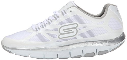 bianco Wht Liv Sneaker 57050 Skechers 36 Calzature x0wCq6YH
