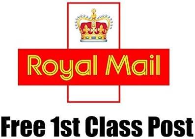 50 camas letra grande 1st clase sello autoadhesivo hoja correos correo real: Amazon.es: Oficina y papelería