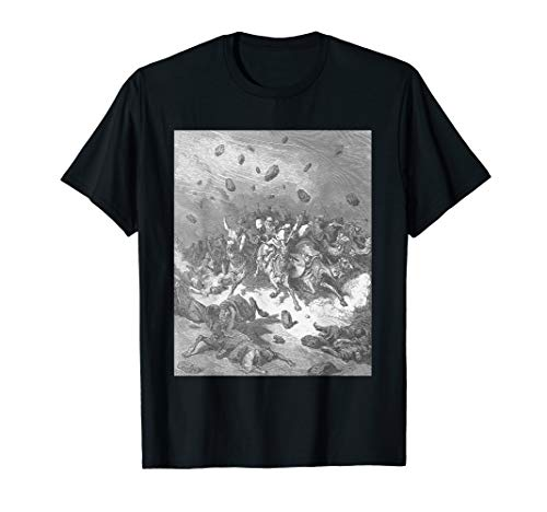 Destruction of the Army of the Amorites by Gustave Dore T-Shirt