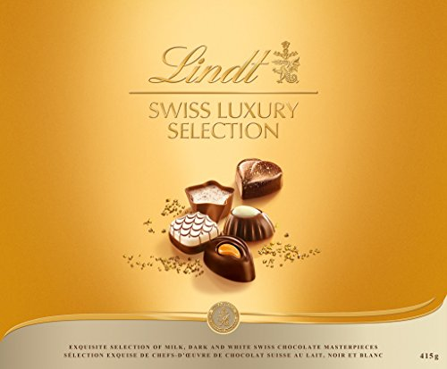 Praline Assortment - Lindt Swiss Luxury Selection Boxed Chocolate 14.6 oz.