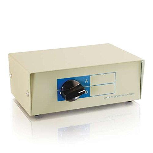 C2G 03364 2-Port VGA (HD15) Manual Switch Box, Beige