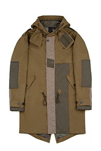 Valentino Homme LV3CK0003FN825 Vert Coton Blouson
