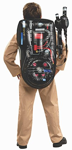 Rubie's Costume Kids Classic Ghostbusters Inflatable Costume Proton Backpack (Ghostbusters Kids Proton Pack)
