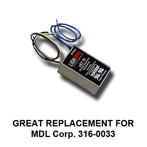 LET 75-24-R 66951 GELT75A12024SL Electronic Transformer - Replaces MDL Corp 316-0033
