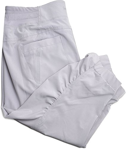 Calvin Klein Womens Performance Cropped Performance Pants (XX-Large, Pale Grey)