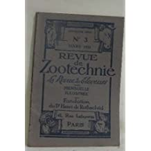 Revue de zootechnie n°3 mars 1935