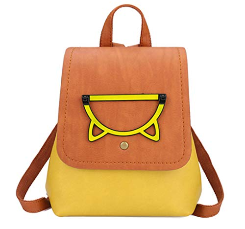 mode dos de voyage sacs filles sac Petit Yellow femmes femmes couleur bonbons sacs adolescents dos sac d'école sac dos de U6twxqf