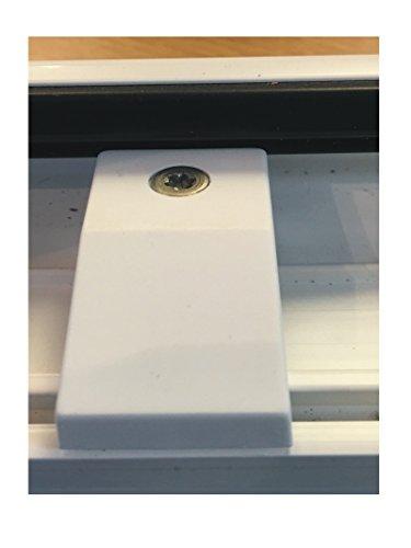 Upvc Run Up Riser Block White Window Or Doors 14mm Step Guide Closer