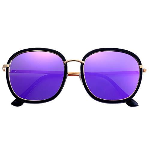 Gafas Rostro Uv Grande Para Sol Hd B sunglasses Tipo Adecuada Todo Polarizadas Zhyxj Marco Protección Estilo De Mujer Simple 4fpRBnWqw