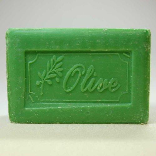 - 250 Gram Bar of Olive Oil Based Soap, Olive Scented