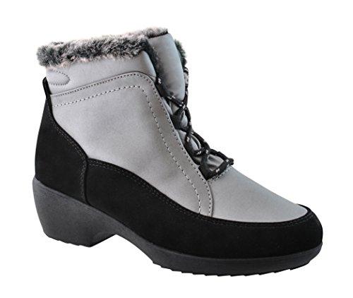 Weatherproof Womens Kari Snow BootSILVER10