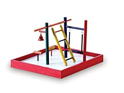 Prevue Hendryx Pet Products Parakeet Park Playground