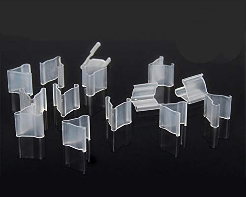 600 Pieces of Clear Plastic Small Balloon Clips Tie for Sealing -