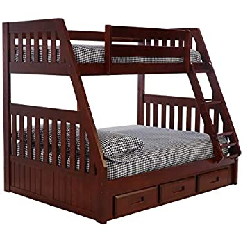 Amazon Com Coaster 460182 Co Cooper Twin And Full Bunk