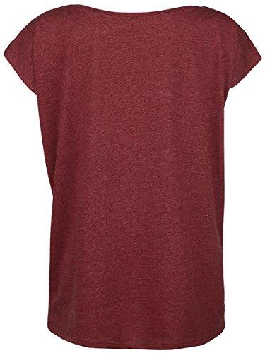 Batman Dark Bat Girl Shirt Frauen T-Shirt Rot Meliert