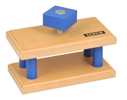 Simple Wooden Machine: Screw Model