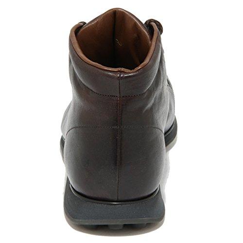 0945O polacchini CAR SHOE marrone stivaletti uomo boots men Marrone