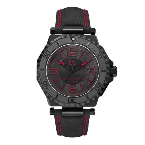 Guess GC-3 Collection Black Dial Black PVD Unisex Watch X79007G2S