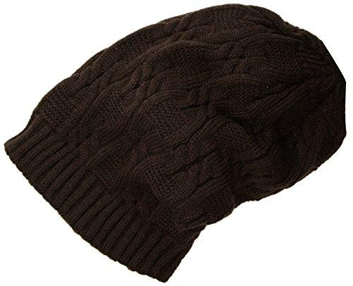 Merryshop Slouchy Long Beanie Knit Hat Cap for Winter Oversize