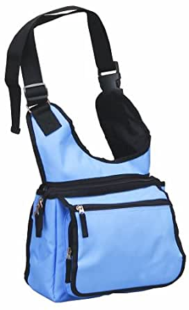 Rockland Luggage Sling Messanger Bag, Sky Blue, One Size