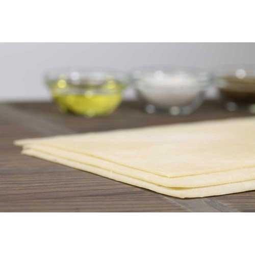 Ultra Thin Crust Par Baked Rectangle Flatbread, 16 x 5 inch -- 100 per case.