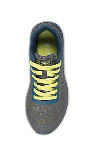 Zakti Kids Lowlight Running Trainers Gris oscuro