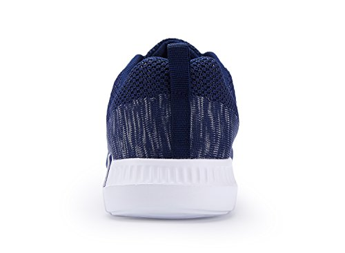 Lightweight Casual Navy Fashion Running Sneakers Blue Breatheable Shoes Men's FqzHdgXwAF