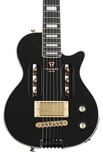 Traveler Guitar 6 String EG-1 Custom (Gloss Black), Right (EG1C BKG)