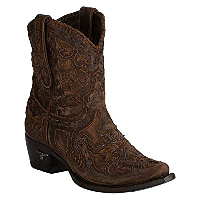 Lane Robin Womens Western Ankle Boot
