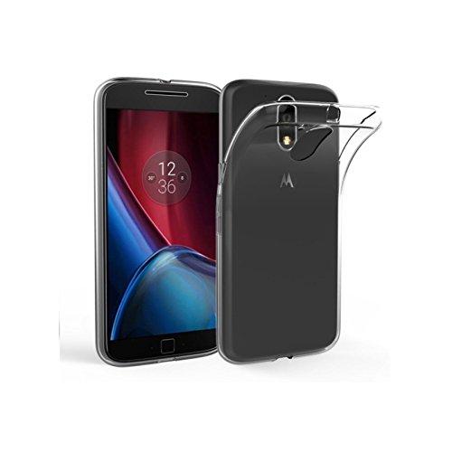 HANDYHÜLLE Schutzhülle Silikon Case Schutz Cover Transparent Clear von ZhinkArts für Motorola Moto Nexus 6